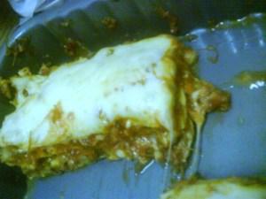 Nyum nyum! Lasagna!